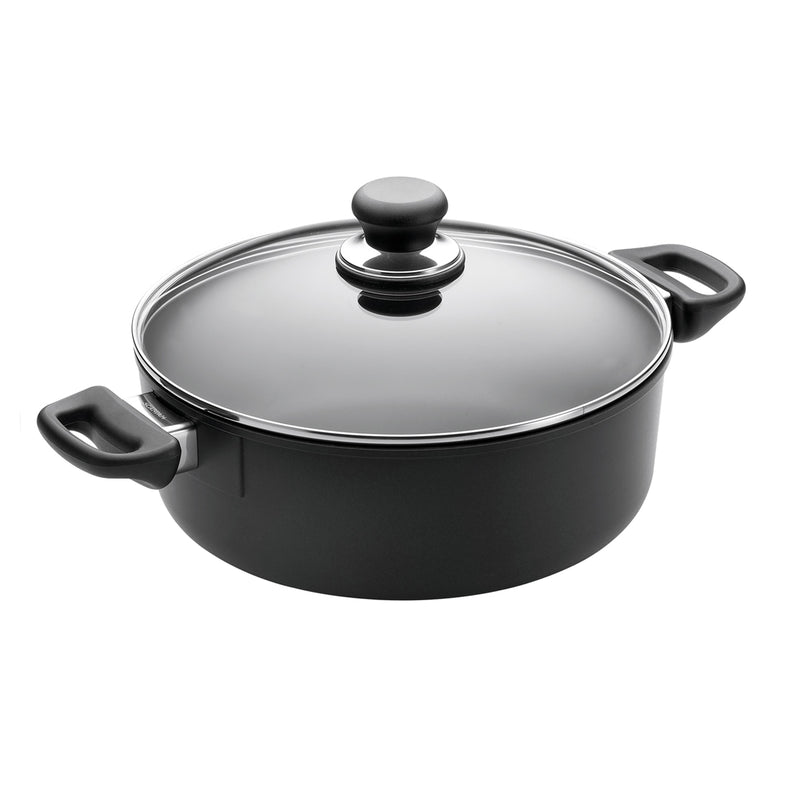 Scanpan Classic - 3 3/4 Qt Covered Low Sauce Pot
