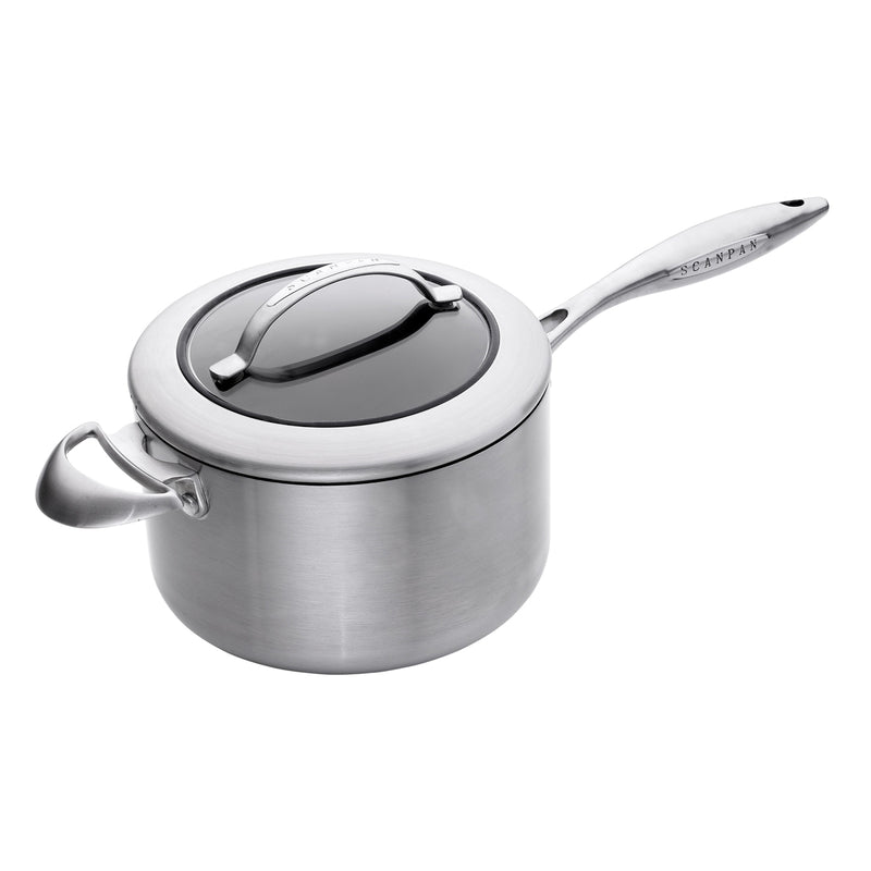 Scanpan CTX - 4 Qt Covered Saucepan