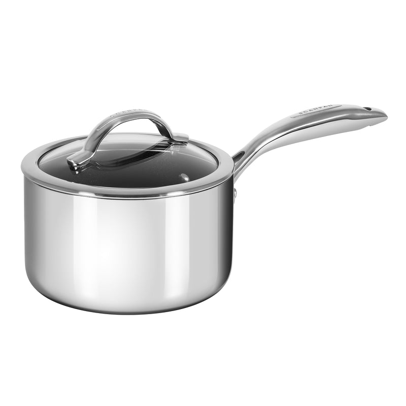 Scanpan HaptIQ - 2 Qt Covered Saucepan