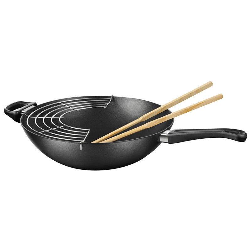 "Scanpan Induction Plus - 12.5"" Wok"