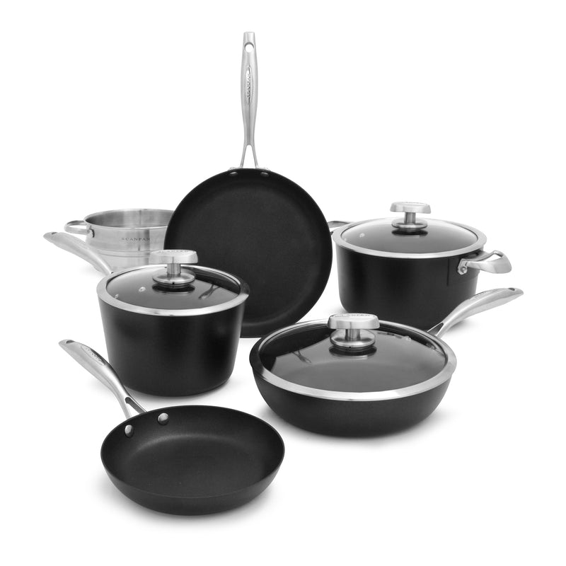 Scanpan Pro IQ - 9 Pc. Cookware Set