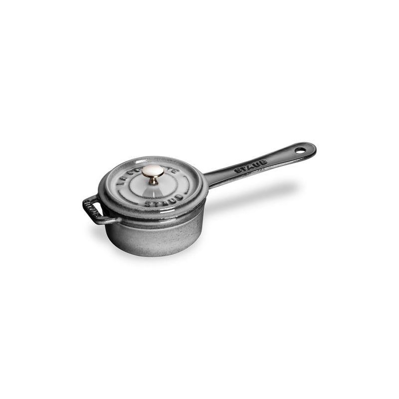 Staub Mini Sauce Pan - 0.25Qt - Graphite Grey