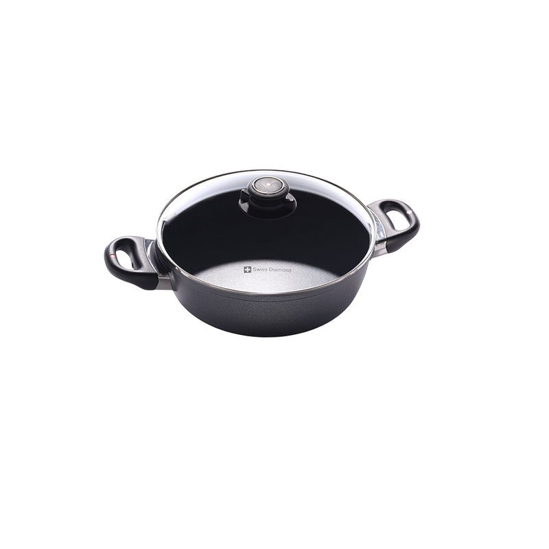 "Swiss Diamond - 9.5"" Casserole w/Lid"