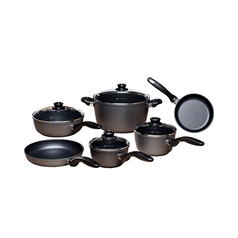 Swiss Diamond - 10 Pc Cookware Set