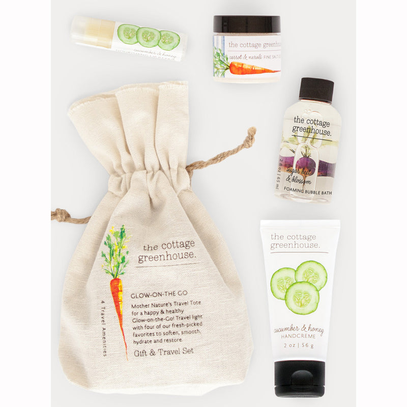 The Cottage Greenhouse Veggies Gift & Travel Set