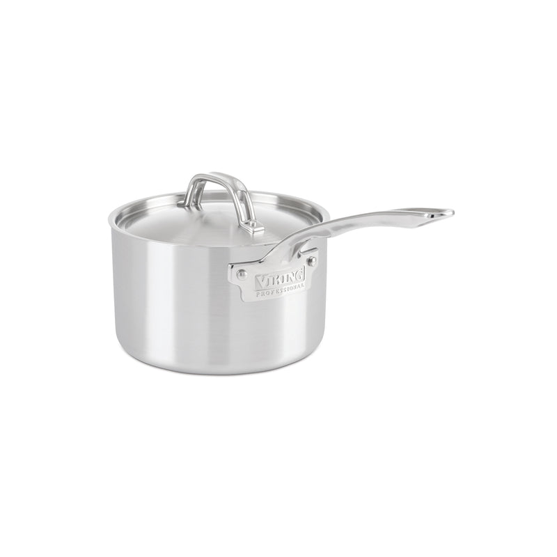 Viking 5-Ply Professional - 3 Qt. Sauce Pan w/Lid - Satin Finish