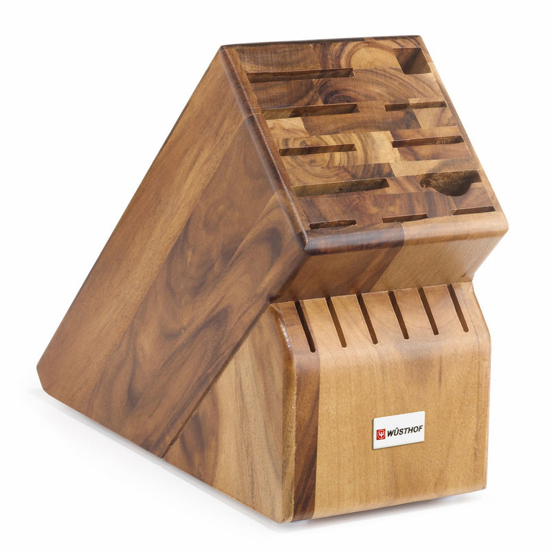 Wusthof 17-Slot Knife Block - Acacia