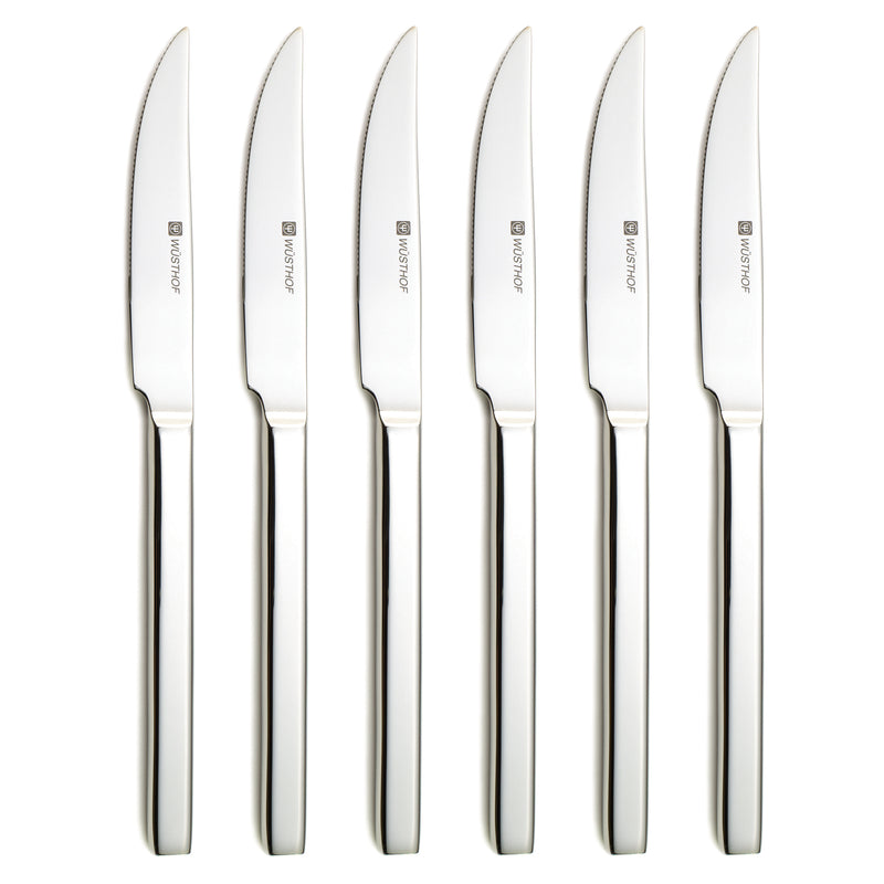 Wusthof 6 Pc. Stainless Steak Knife Set
