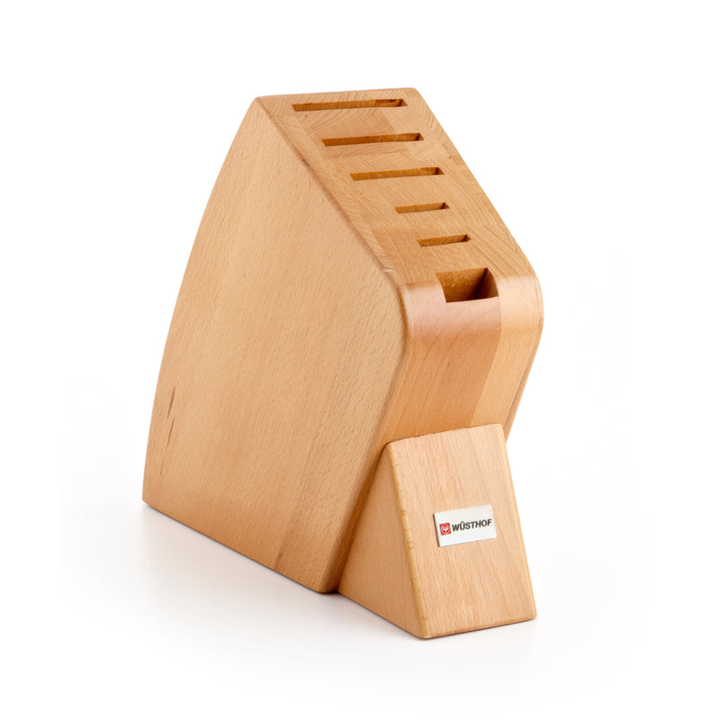 Wusthof 6-Slot Big Studio Knife Block - Natural