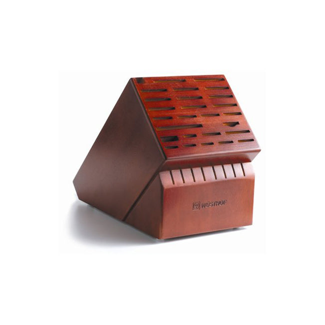 Wusthof 35-Slot Cherry Knife Block