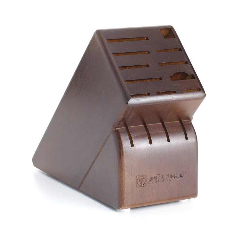 Wusthof 15-Slot Walnut Knife Block