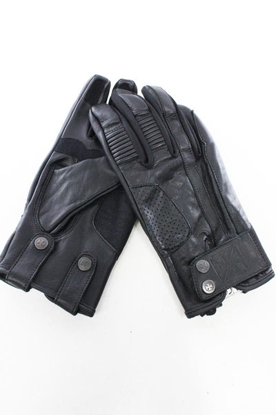 LUVAS WEST COAST CHOPPERS WCC GRUNGE LEATHER RIDING GLOVES