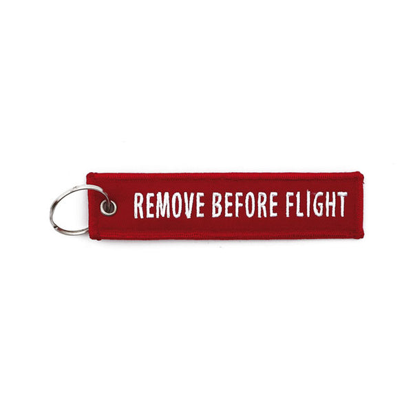 Porta-chaves Remove before flight