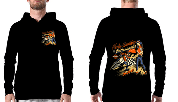Hoodie Sweat com gorro Harley Davidson of Indianapolis