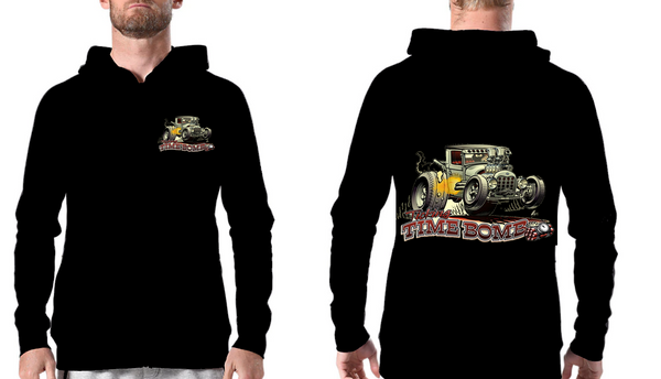 Hoodie Sweat com gorro Hot Rod