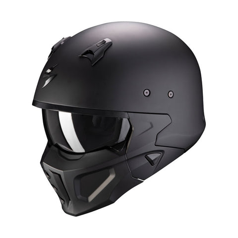 Capacete Scorpion Covert X-Solid Matte Black