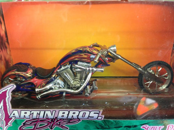Motos miniatura 1:18 Choppers