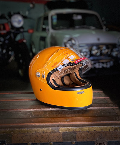 Capacete Cool Garage Race Yellow Gloss
