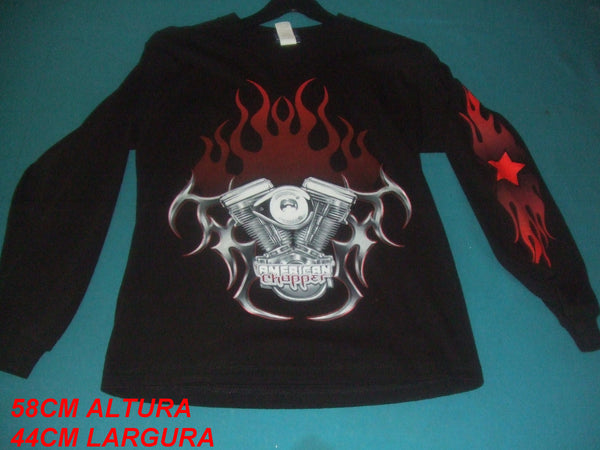 Long Sleeve American Chopper