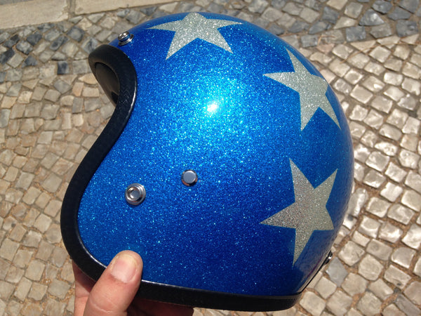 Capacete 70's Captain America Super Flake