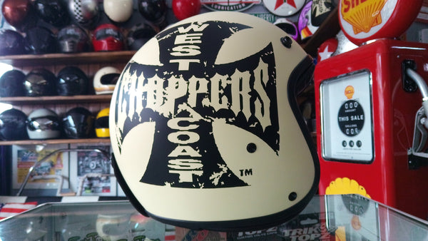 Capacete West Coast Choppers  open face
