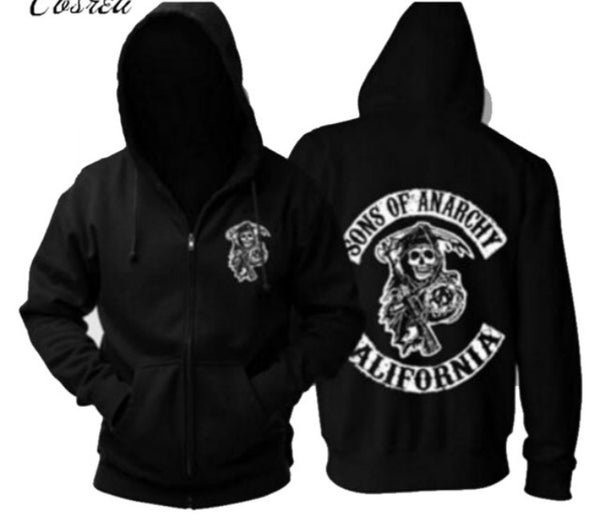 Hoodie Sweat Sons of Anarchy California