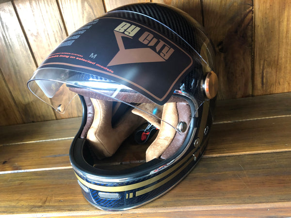 Capacete By City Roadstet Carbon Blue