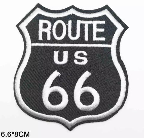 Patch Bordado ROUTE 66