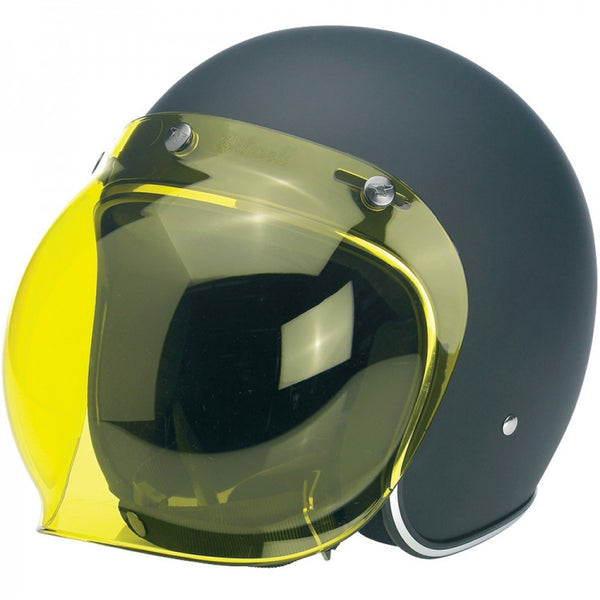 Viseira Bolha Biltwell Bubble Shield Yellow Solid amarela