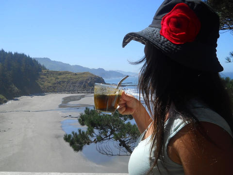 Drinking Yerba Mate
