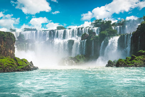 Iguazu Falls in the heart of yerba mate country