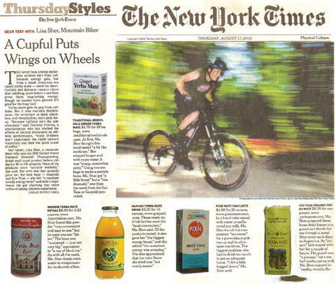 New York Times ECOTEAS article