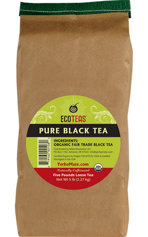 Organic Black Tea - English Breakfast - Five Pound Loose