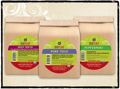 Organic Loose Tea Sampler - 3 Pack - Mix-n-Match