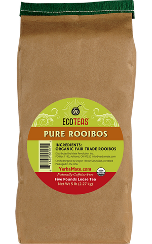 BARGAIN ZONE Organic Rooibos Tea - Five Pound Loose