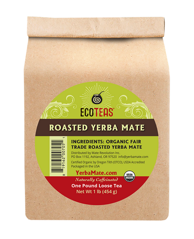 Organic Roasted Yerba Mate - 1 lb Loose