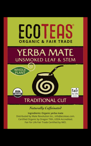 Whole Plant Yerba Mate Bulk Bin Label