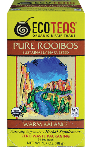Pure Rooibos zero waste tea bags