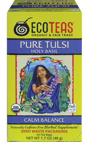 Pure Tulsi zero waste tea bags