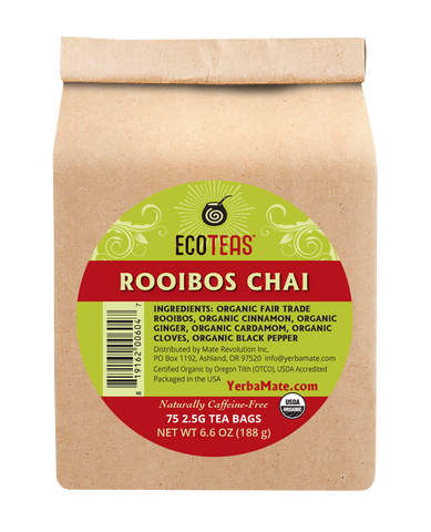 Rooibos Chai - 75 Tea Bags Case  (6/75Ct) - ws