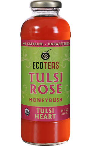 Tulsi Heart Unsweetened Bottled Tea