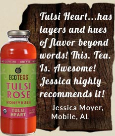 We love your Tulsi Heart! No sugar is just what we asked for... and the flavor is out of this world. Click to read more testimonials.