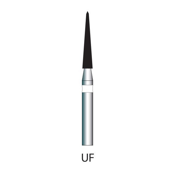 165-014S | 858 10-pk Ultra Fine Diamond Bur for polishing
