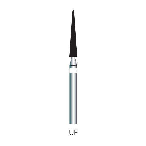 166-016 | 859 10-pk Ultra Fine Diamond Bur for polishing