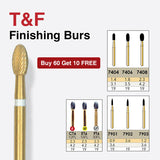 7903    10-Pk  Multi use Trimming & Finishing Burs. Needle Shaped