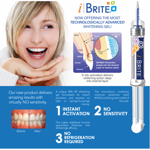 iBrite Automix Gel-Type Tooth Whitening System