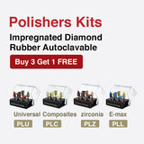 Universal Amalgam Polishing Multi-Use Kit. Order #KIT PLU