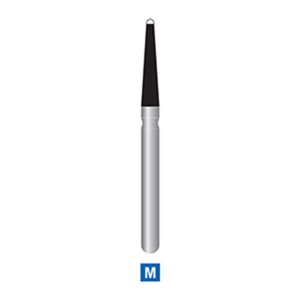 219-012 Endo Diamond Bur, Tapered with Rounded Tip