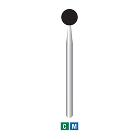 697-032 (801) Long, Round Extra Large Head Diamond Bur