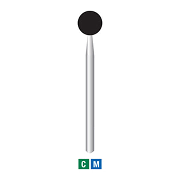 697-039 | 10-pk Diamond Bur (Extra Large Round Ball Head)